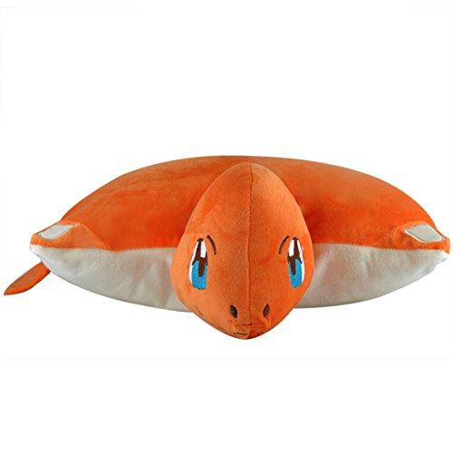Katara-1750-Pokmon-Go-puscheliges-flojel-Cojn-de-peluchePeluche-con-como-Idea-de-Regalo-feuriges-Charmander-XXL-40-cm-color-rojo