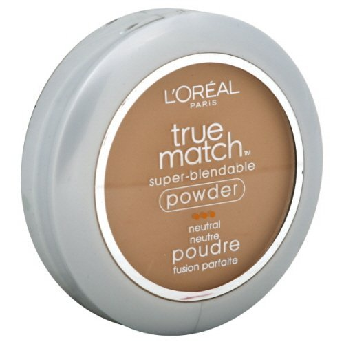 L'Oreal True Match Super-Blendable Powder, Honey Beige [N6], 0.33 oz (Pack of 2)