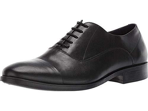 Massimo Matteo Men's Cap Toe Bal Classic Black 2 7 D US