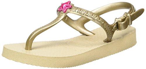 Havaianas Sandalen Mädchen/ Junge Freedom Gold (Sand Gold)