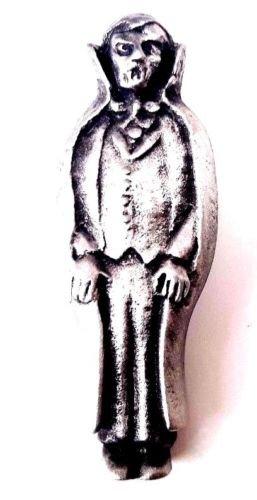 Dracula Halloween fabriquéà la main en étain anglais Pin's (épinglette Badge + 59MM Badge + Sac cadeau