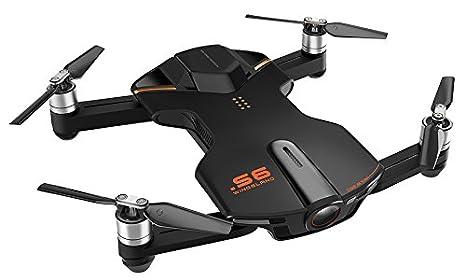wingsland vd-697011253018 Selfie Drone S6 con cámara, vídeo 4 K ...