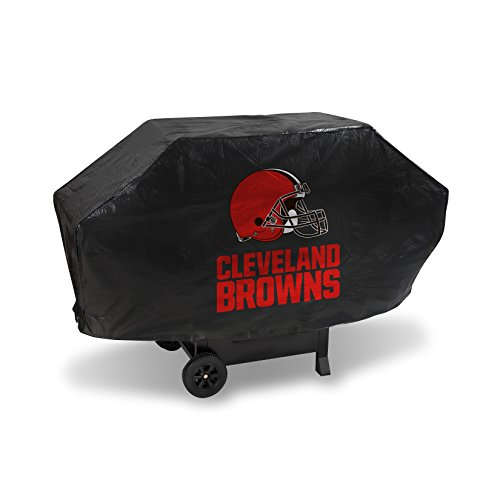 Rico Industries NFL Cleveland Browns Vinyl Padded Deluxe Grill Cover