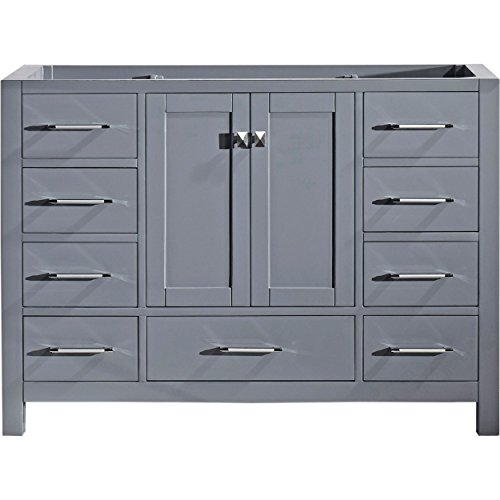 Virtu Usa Gs 50048 Cab Gr Not Applicable Caroline Avenue 48 Inch Cabinet Only In Grey