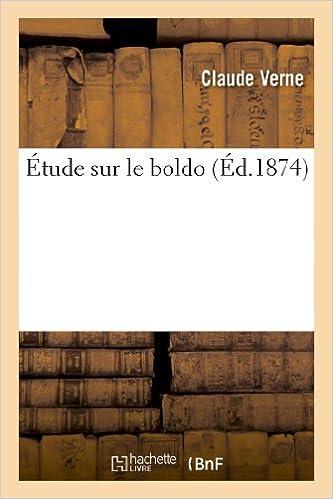 Read Étude sur le boldo epub pdf