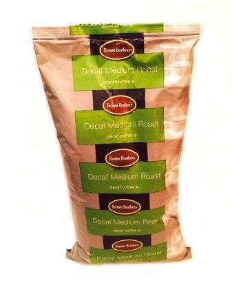Farmer Brothers Decaf Medium Roast Coffee, 2 lb Bag