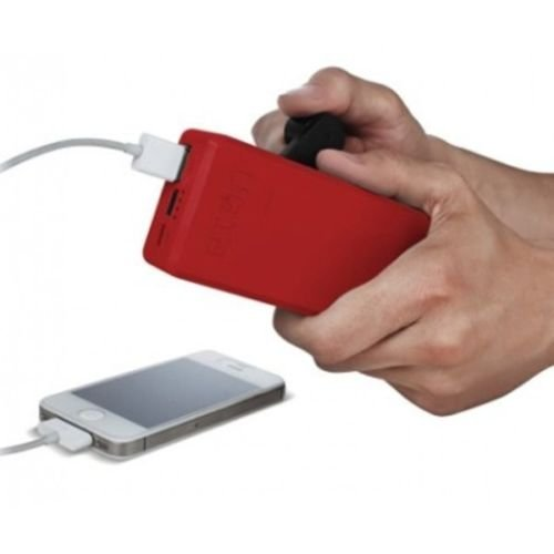 Price comparison product image Eton BoostTurbine 2000 Hand-powered Backup Battery Pack w 2000mAh Portable USB / RED