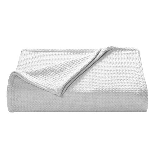 Tommy Bahama Bahama Coast White Cotton Blanket