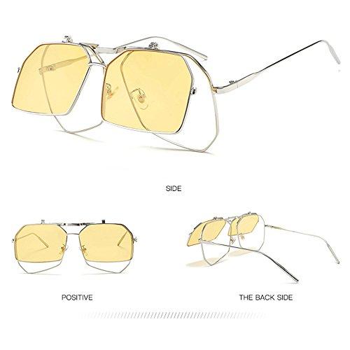 Protegidas Polarizadas Ultravioleta Protección De De Bicolores Gafas La De Sol De Moda La Douerye Gafas Sol n8FItgxx0
