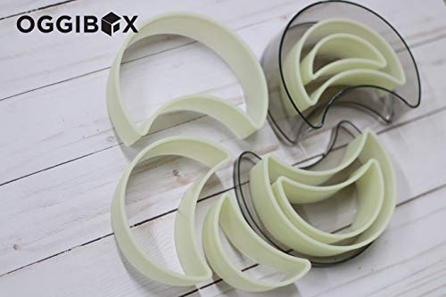 - Oggibox 7-Piece Half Moon Nylon Cutter Set