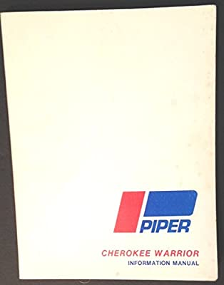 Piper Cherokee Warrior Information Manual