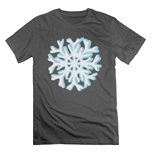 Ihappppy2018 Men's Snowflake T-Shirt