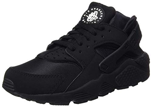 (Nike - AIR Huarache [318429-003] Black/Black/White 10)