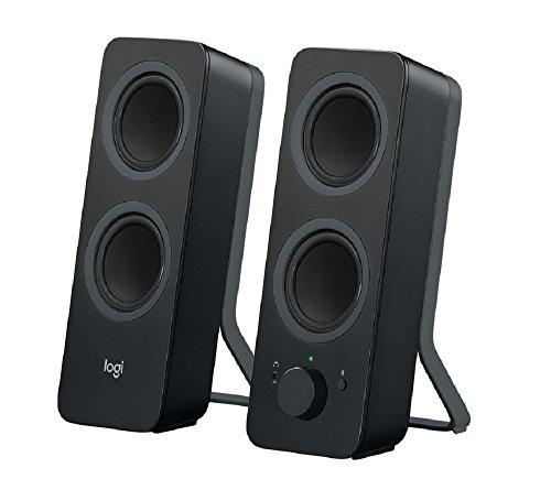 Logitech Z207 - Altifalantes - para PC - canal 2.0 - sem fios - Bluetooth - 5 Watt (Total) - preto
