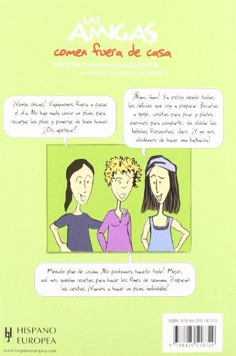 Las amigas comen fuera de casa (Salud & Cocina/ Health & Cooking) (Spanish Edition)