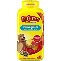 L'il Critters Omega-3 Gummy Fish for Children - 180 ct. AS