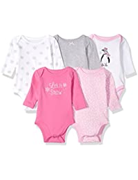 Baby Girls' Long Sleeve Bodysuits