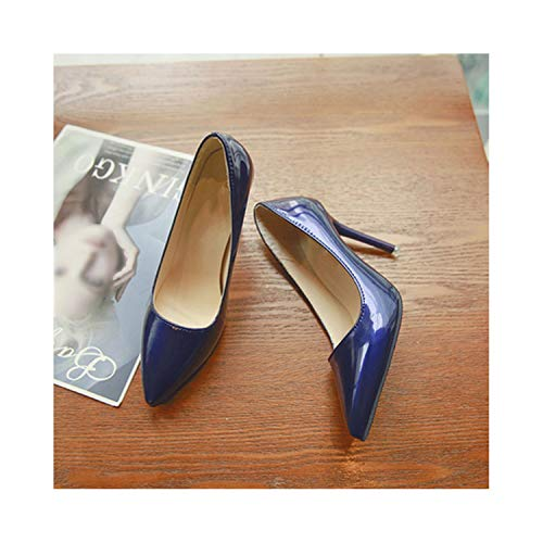 Perceive DA Small Fresh 2019 New Pointed Women's Shoes Shallow Mouth Stiletto High Heels Girls Wild Single Shoes,8 7Cm,9