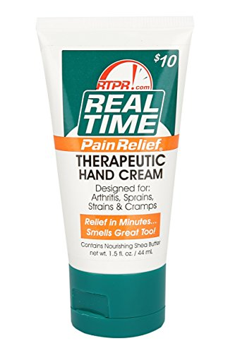 (Real Time Pain Relief Hand Cream, 1.5 Ounce Tube)