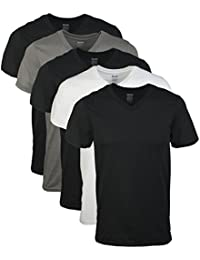 Men's Assorted V-Neck T-Shirts 5 Pack