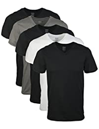 Gildan Mens Assorted Standard V-Neck T-Shirts