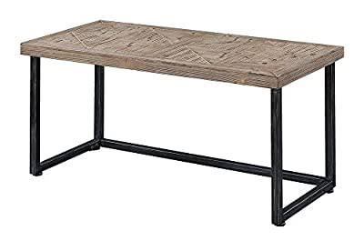 Convenience Concepts 413882 Laredo Parquet Coffee Table