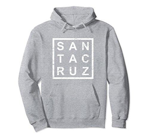 Unisex Stylish Santa Cruz Hoodie Medium Heather (Santa Adult Mens Hoodie)