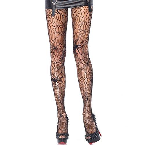 Women Pantyhose Stockings,Herebuy8 Halloween Spider Web Lace Tight Fishnet Pantyhose Stockings (Spider Web Pantyhose Stockings) (Stockings Spider Web)