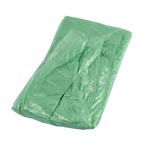 AutumnFall 1PC Disposable Rain Poncho Waterproof Raincoat Hooded for Adults Hiking Camping Outdoor (Random)