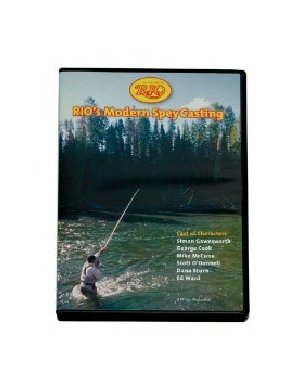 RIO Fly Fishing Modern Spay Casting DVD Fly Tying Materials