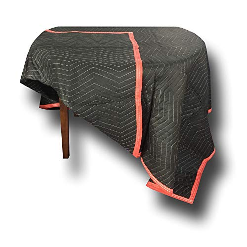 6 Pack of Deluxe Moving Blankets - 5.42lbs/Each - Protective Shipping by Uboxes (Image #4)
