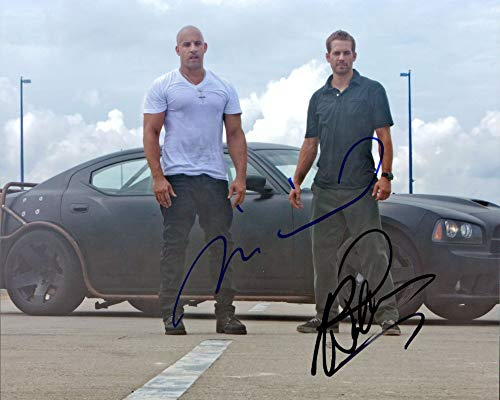 fast and furious signed picture - 9