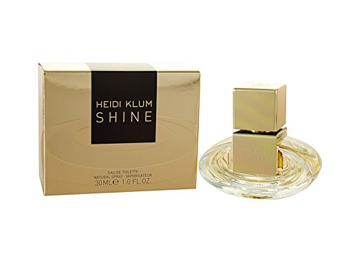 Heidi Klum Shine Eau De Toilette Spray for Women, 1 -