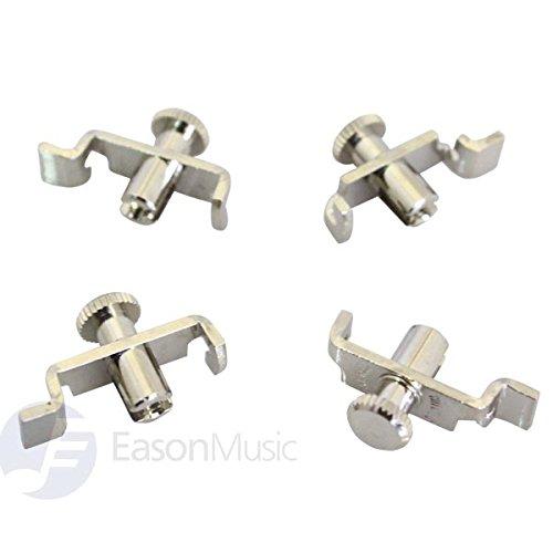 Made in Germany Wittner Brand Nickel Plated Fine String Adjustor for Erhu (4pcs)