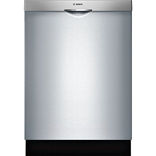 Bosch SHS863WD5N 300 Series Built In Dishwasher with 5 Wash Cycles, 16 Place Settings, 3rd Rack, SpeedPerfect, RackMatic in