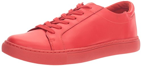 Kenneth Cole REACTION Women's Joey LACE-UP Sneaker, red, 10 M US