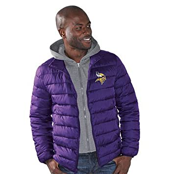 the best attitude c4f27 4ac6f NFL Minnesota Vikings 3 Point Men's Quilted Winter Jacket ...