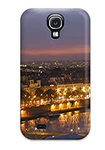Top Quality Protection City Of Paris Case Cover For Galaxy S4