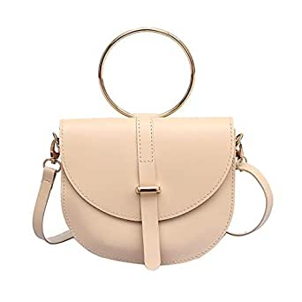 y&d fashion casual bags for women,crossbody bags, pu leather, large capacity bag-cream color