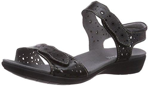 Donna caviglia alla 03 Schwarz cinturino Tahiti Con 100 Romika Nero xYqgwp1n