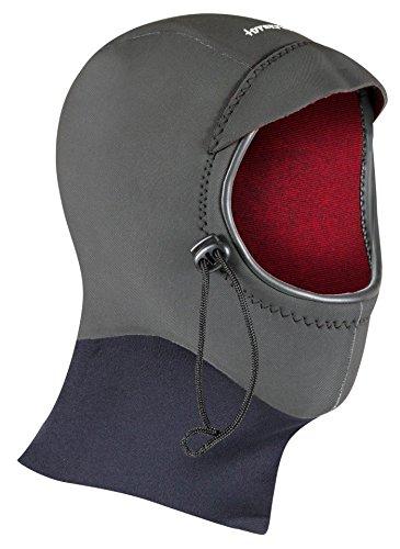 Hyperflex Mesh Series Surf Hood - Ultra-Warm Wetsuit Hood, Black, L
