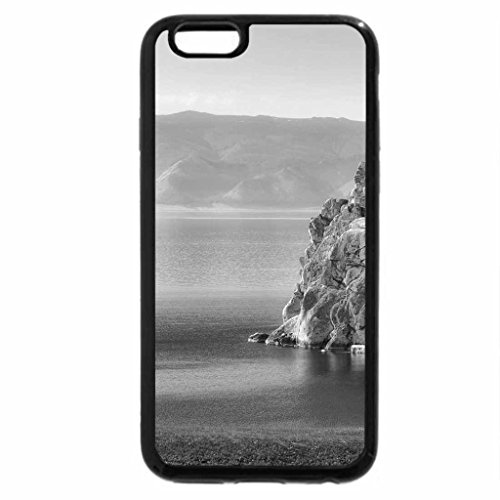 iPhone 6S Case, iPhone 6 Case (Black & White) - Beautiful View