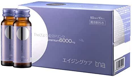 TNA WHITENING Drink with 6000MG Collagen (Three Boxes, Including 30 Bottles)