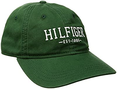 Tommy Hilfiger Men's Bucky Baseball Dad Cap from Tommy Hilfiger Headwear Child Code