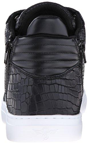 Creative Recreation Menns Adonis Midten Mote Sneaker Svart Krokodille Slange