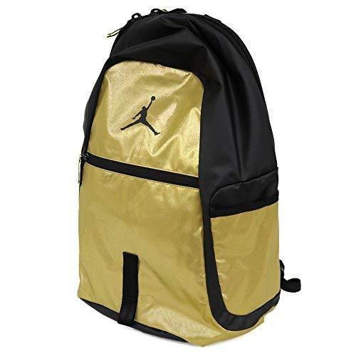 Nike Air Jordan Jumpman reflector All World Bookbag Sports Laptop Student  Backpack Metallic Gold fc078275e4449