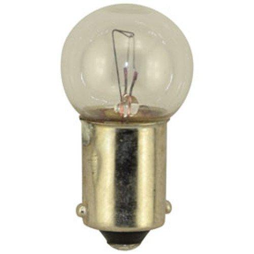 Price comparison product image 10 Pack - 431 Bulb for Lionel Trains,  Bayonet Base 14 Volt - Clear