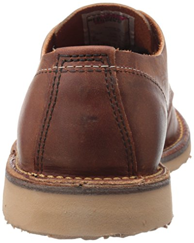 Red Wing Mens Weekender Oxford Brown Leather Shoes 39 EU
