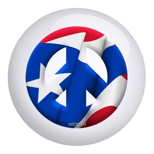 プエルトリコメヨト国旗ボーリングボール B003C23DAW  12lbs