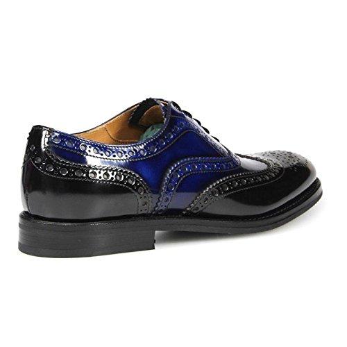 À Lacets Burwood WG Chaussures Noir Bleu Church's FwqRdCd